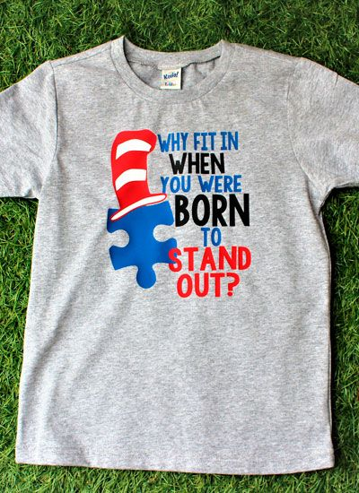 Stand Out Designs Shirts : Autism awareness shirts for teachers that will make