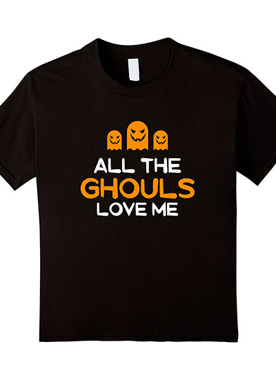 All The Ghouls Like Me Halloween Shirt