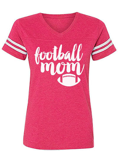 Vintage Relaxed Fit Football Mom Shirt